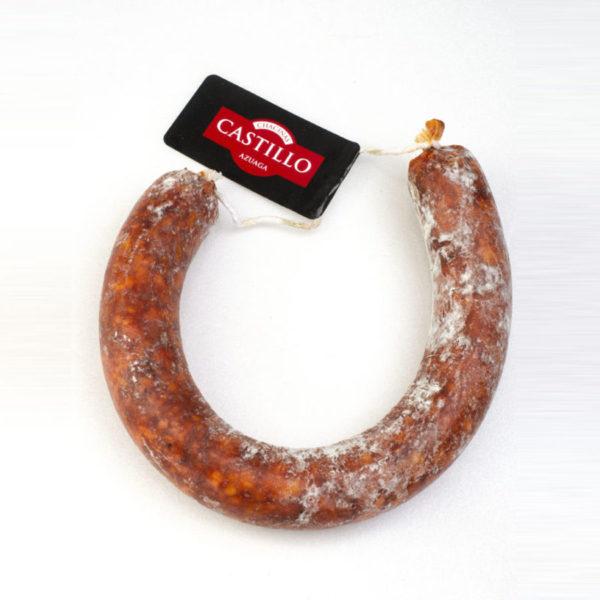 Chorizo ibérico casero Castillo
